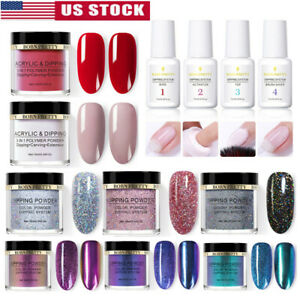 BORN-PRETTY-Nail-Art-Dipping-Powder-Glitter-Holographic-Acrylic-Pro-Starter-Kit