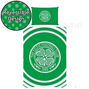 Celtic-fc-Impulsion-Set-Housse-de-Couette-Simple-Reversible-Football-Literie