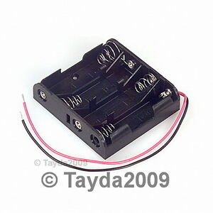 2-PCS-4-x-AA-Battery-Holder-FREE-SHIPPING-HIGH-QUALITY