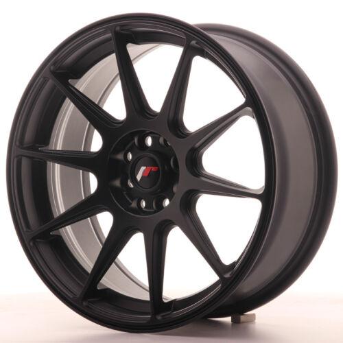 "114.3 Nero Opaco Un Cerchio in Lega Japan Racing JR11 17/"" x 7.25/"" ET35 4 x 100"