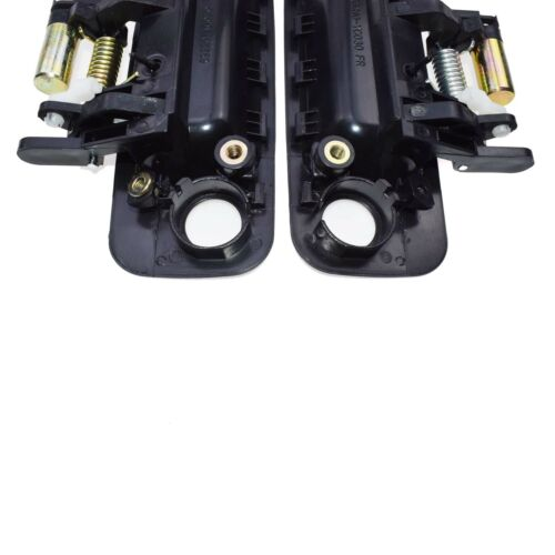 Pair Black Front Left and Right Outside Door Handles for Toyota Camry 1997-2001