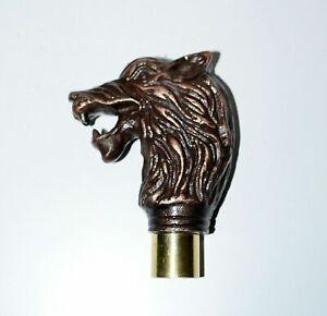 Brass Handle Jaguar Animal Style Handle For Top Topper Vintage Walking Stick New