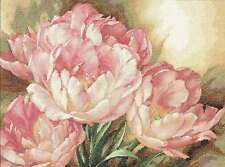 """Gold Collection Tulip Trio Counted Cross Stitch Kit 16""""X12"""" 14 Co 088677351755"""