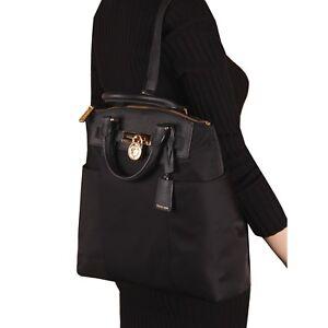 2192217b8c02 Image is loading NWT-Michael-Kors-HAMILTON-Nylon-Large-Convertible-Backpack-