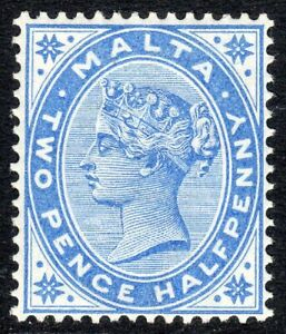 Malta-1885-Bright-blue-2-5d-crown-CA-lightly-mounted-mint-SG25
