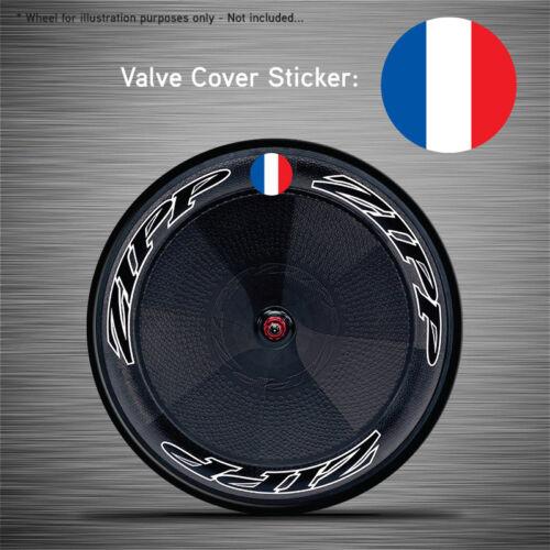 VCS034-6x France drapeau roue disque de soupape couvertures//correctifs-Zipp Hed Corima FFWD