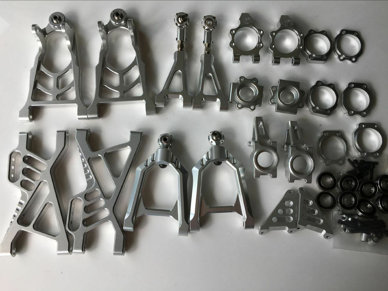 CNC tuttioy suspension arm rueda hub autorier  for 1 5 HPI baja 5b parts km rovan  acquista marca