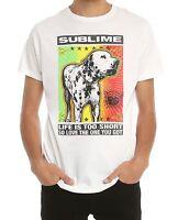 Sublime Lou Dog -lbc- T-shirt Rock Band 100% Authentic & Official