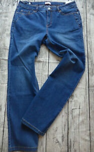 Sheego-Trousers-Jeans-Stretch-Size-44-to-58-Straight-Form-Blue-341