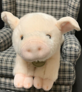 Aurora-Miyoni-Pink-Piglet-12-Realistic-Soft-Plush-Stuffed-Animal-Cute-Piggy-Pig
