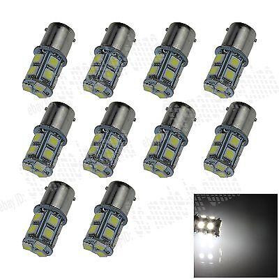 100X 1156 G18 Ba15s 13 5050 LED SMD Turn Signal Rear Light Bulb Lamp D003