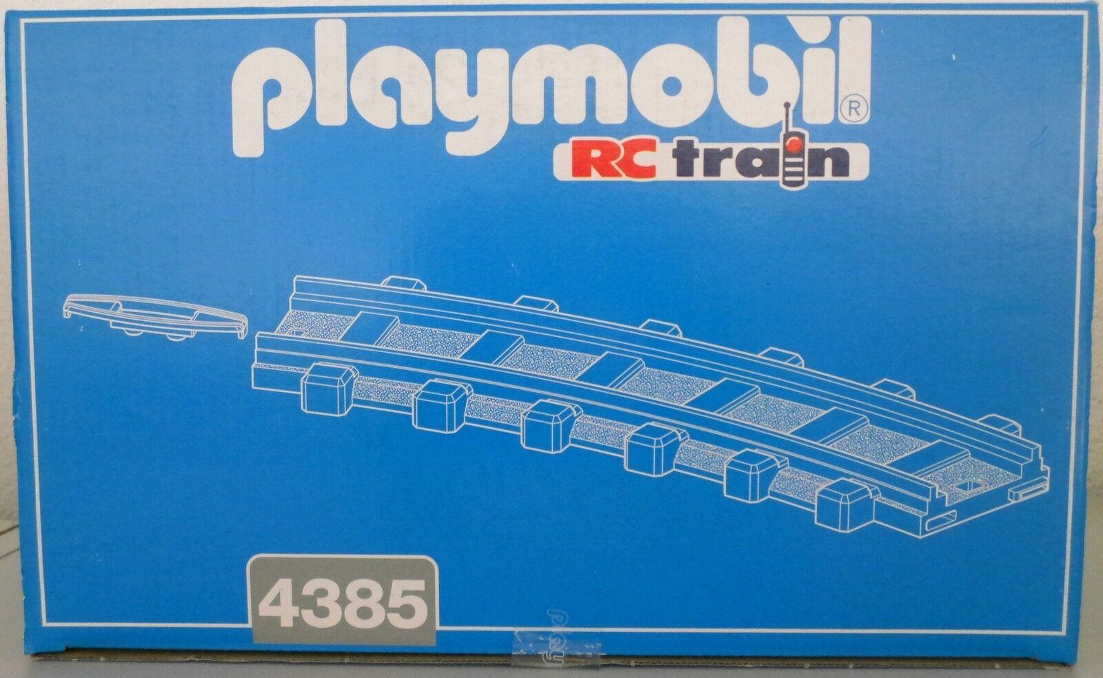 NEU PLAYMOBIL® 4385 12 Gleise gebogen Bahn Zug OVP  | Billig