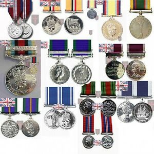 Large-Selection-of-Official-FULL-SIZE-Medals-with-Ribbon-WW2-Diamond-Herrick