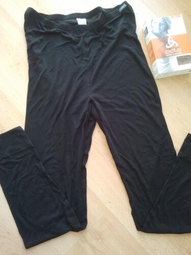 3XL NEU!! ODLO LIGHT Unterwasche Lange Unterhose DAMEN Schwarz GR XXXL