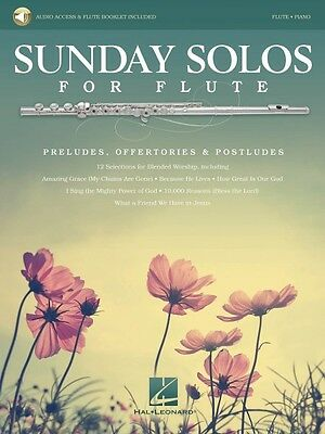 Competent Sunday Solos For Flute Preludes Offertories & Postludes Instrumental F 000137300 Instruction Books, Cds & Video