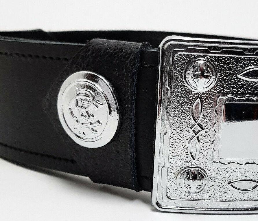 Rangers Belt Loop Caps for kilt belt - reduced to a pair.