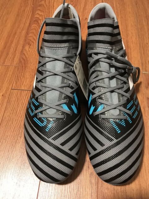 e782f7f42 adidas 17.3 Nemeziz Messi Mens FG Outdoor Soccer Cleats   CP9037 Size 12