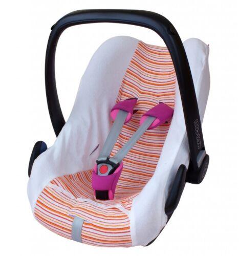 Pebble City Cabrio ByBoom® Sommerbezug Frottee für Babyschale z.B Maxi Cosi