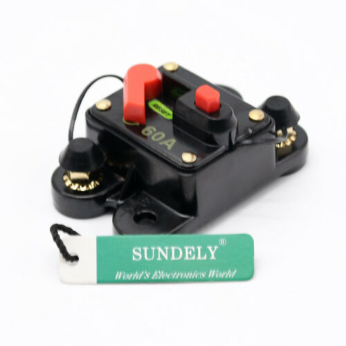 60A80A100A150A//200A250A Car Stereo//Audio Circuit Breaker Amplifier Amp 12V-24VDC