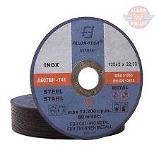 25x Metalltrennscheiben Flexscheiben Stahl Edelstahl 125x2mm(25-TAR-MET-125x2,0)