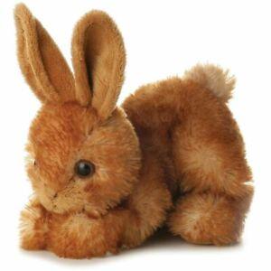 Aurora-MINI-FLOPSIE-BITTY-BUNNY-Baby-Child-15cm-Soft-Teddy-Toy-Gift-Nursery-BN