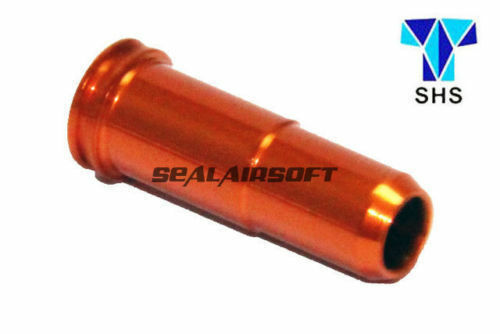 SHS Aluminum CNC 24mm Air Nozzle for SR25 / AR10 Airsoft AEG