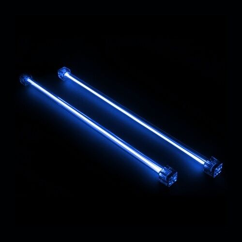 Revoltec 12 (30cm) Dual CCFL (Cold Cathode) 12v BLUE Kit, PC Lighting