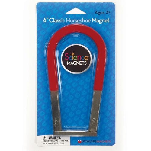 """Classic Horseshoe Magnet 6/"""""""