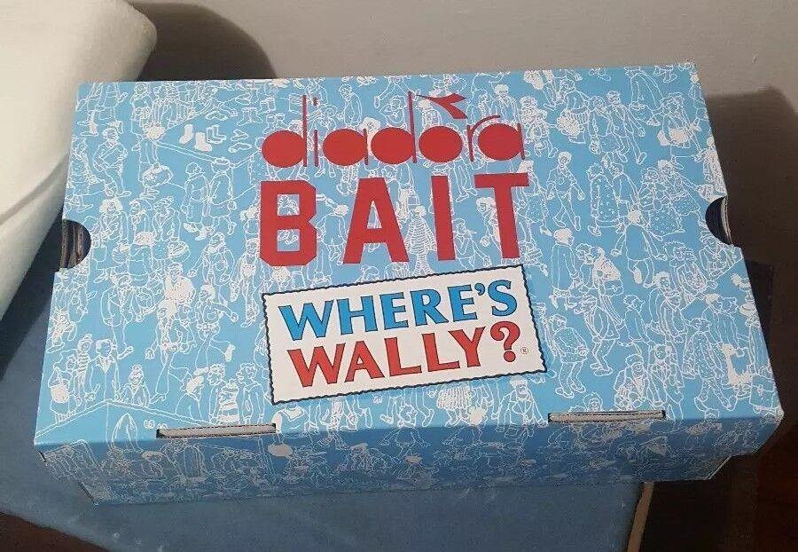 BAIT x Diadora S8000 Where's Wally COPA DreamWorks Men's Size 9 Brand New