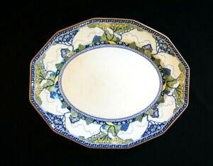 Beautiful-Royal-Doulton-Art-Deco-Merryweather-Large-Oval-Platter