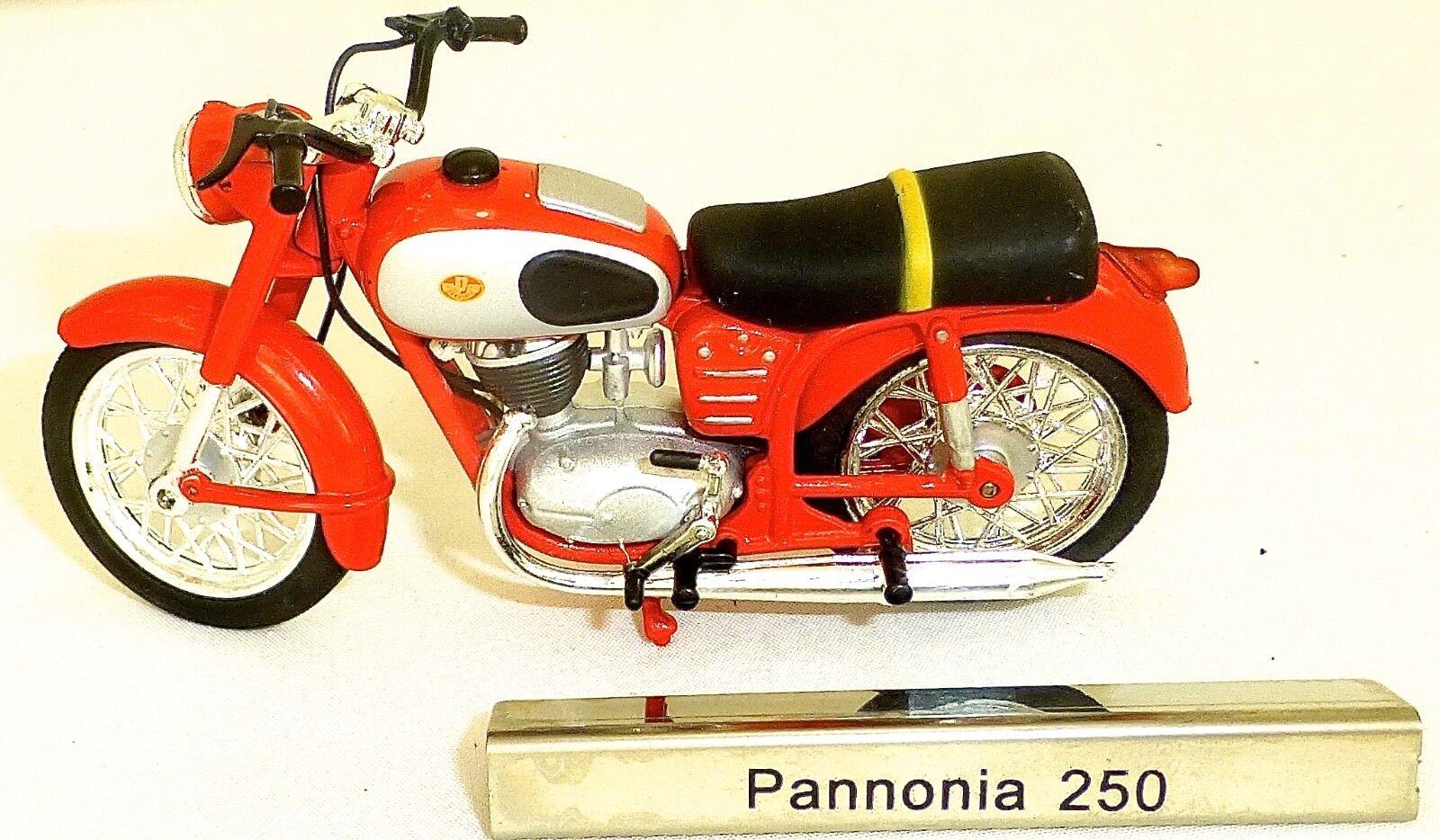 Pannonia 250 Motorcycle Moped GDR 1 24 Atlas 7168109 Nip Μ