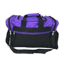 ef8daa850ef7 Duffle Duffel Bag Bags Carry-on Travel Sports Luggage Shoulder Strap Gym 17  inch