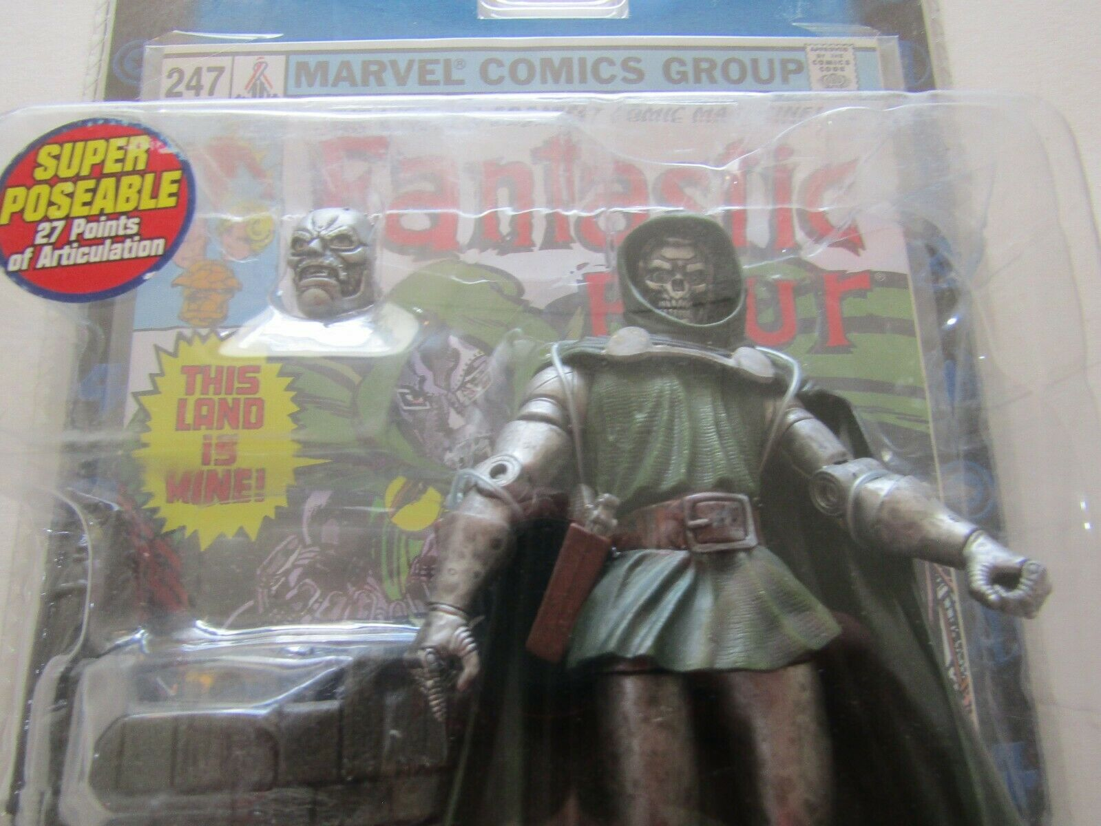 Toybiz Marvel Legends Series 2 Doombot