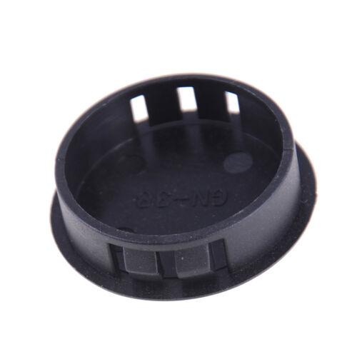 Stück schwarze Kunststoffrohr Lochstopfen Rohrabdeckung X 4 Stück