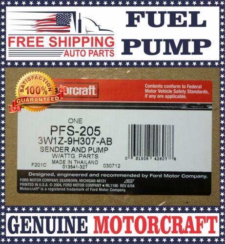 Motorcraft PFS205 Fuel Pump /& Sender 2003-2004 Ford Lincoln Mercury
