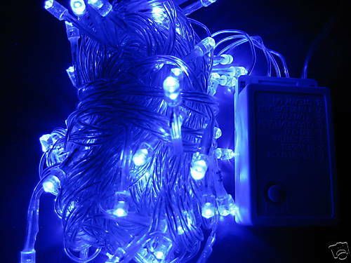 256ft 100 Blau LED Christmas Party Wedding Decoration Floral Fairy String light