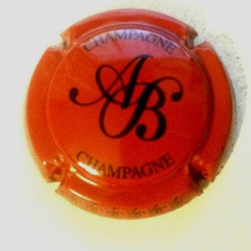 18a. rouge et noir Capsule de champagne BAGNOST A.