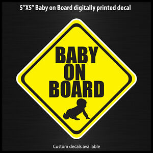 Baby-on-Board-decal-sticker-made-in-the-USA-safety-4x4-off-road-sport-nismo