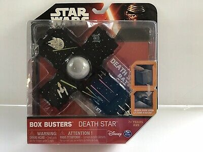 STAR WARS BOX BUSTERS DEATH STAR BATTLE GAME PLAYSET CUBE