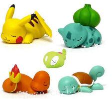 5pcs Pokemon Nendoroid PVC Figura Figurilla