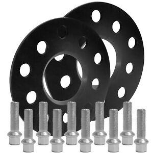 Blackline-Spurverbreiterung-10mm-m-Schrauben-silber-5x112-MB-C-Klasse-205-14