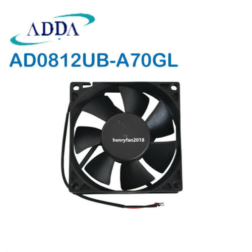 Original ADDA AD0812UB-A70GL case fan DC12V 0.30A 80*25*25mm UPS cooling fan NEW