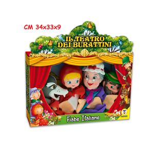 Marionette Cappuccetto Rosso 4 Personaggi Allegro Teatrino Ebay