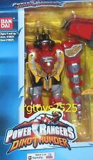 Power Rangers Dino Thunder Thundersaurus 5' Ranger W Gun New Factory Sealed 2003