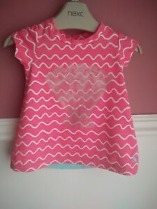 JOULES-pink-top-girl-age-0-3-mths-VGC