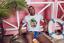 2XL Surf Strand See Herren T-Shirt weiß mit Aufdruck Sunshine Beach Größe S