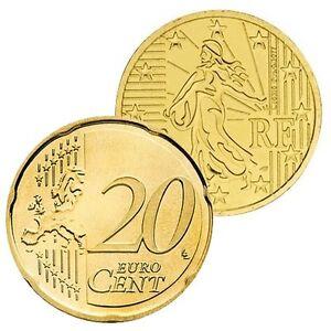 Ek // 20 Cent France : Pièce Nueve : Sélectionnez une Année :
