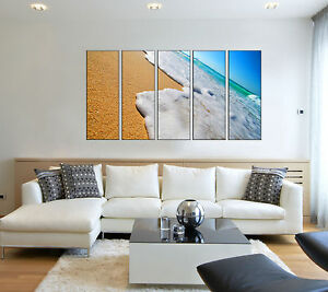 Strange Details About Canvas Prints Framed Beach Print On Canvas Wall Art For Bedroom Framed Art Home Interior And Landscaping Ologienasavecom
