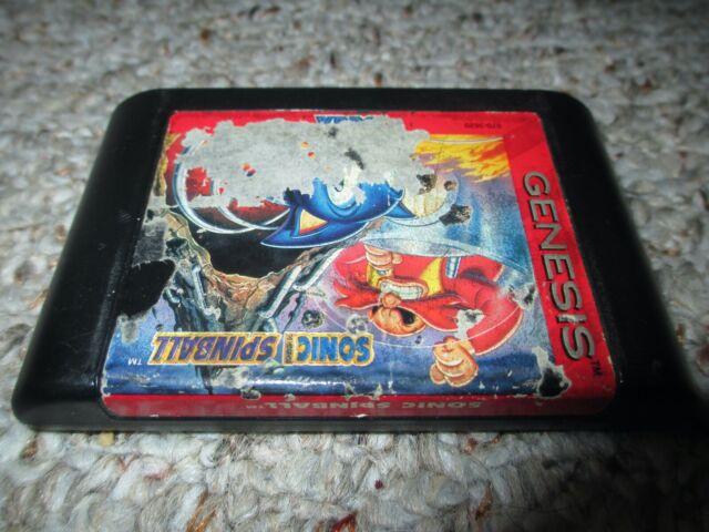 Sonic Spinball  (Sega Genesis, 1993) Cart Only FAIR