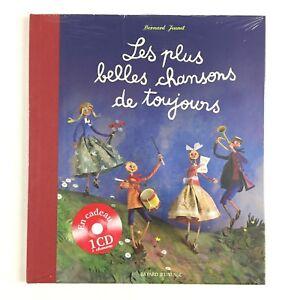 Les-Plus-Belles-Chansons-De-Toujours-CD-Livre-Musique-Bayard-Jeunesse-Neuf